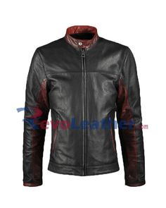 Do get your hands on this amazing Christian Bale Biker Jacket from Batman The Dark Knight movie that he wore while riding the Bike. This jacket is available in genuine leather and it fits good. Biker Leather, Leather Men, Leather Jackets, Calf Leather, Red Leather, Biker Wear, Batman The Dark Knight, Batman Dark, Christian Bale