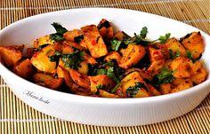 Maria kocht: Libanesische Knoblauch-Koriander Kartoffeln - Bata...