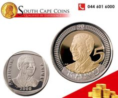 South Cape Coins thought that the year should be started with a legend in South African coin history. The Mandela Proof coins were one of the fastest. Sell Coins, Proof Coins, Challenge Coins, World Coins, Rare Coins, Coin Collecting, Silver Coins, 6 Years, Cape