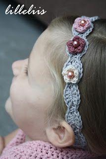 lilleliis - world full of amigurumi and cuteness : Heegeldatud peapaelad tüdrukutele