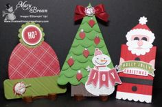 Trio of Holiday Gift Card Holders