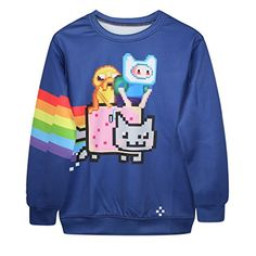 Ecollection 3D Adventure Time Digital Print Sweatshirts Jake and Finn Fashion Tops Hoodies (AD9) ecollection http://www.amazon.de/dp/B00QUVOJF0/ref=cm_sw_r_pi_dp_8xNlwb04GY064