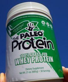 Paleo Protein™ 100% Grass Fed Whey (1.31 LBS) Plain #paleo