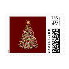 USPS Christmas Cards Postage Stamp 2017