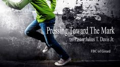 Paul pursued Christ-likeness with the enthusiasm and persistence of a runner in the Greek games. Speaker: Julius T. Davis Jr.. Philippians 3:9-21, Galatians 4:3-11, Colossians 2:21-22. Series: Pressing Toward The Mark Part: 2.