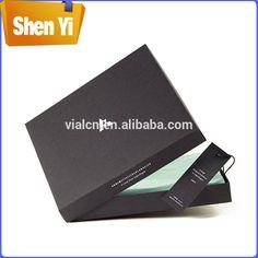 ODM gift box with ribbon custom matte lamination cardboard book shaped box