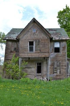 If Old houses could talk, I would sit and listen to their stories...