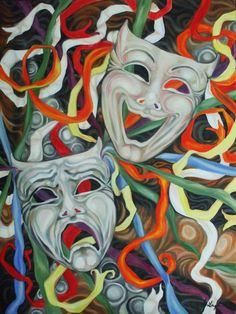 Masks ~ Tragedy/Comedy