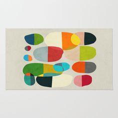 Jagged little pills Rug by Budi Satria Kwan - $28.00