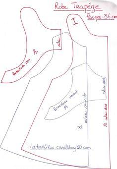17-10-2010 robe trapeze poupee 36 cm
