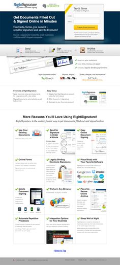 26 Beautiful Landing Page Examples With A/B Testing Advice
