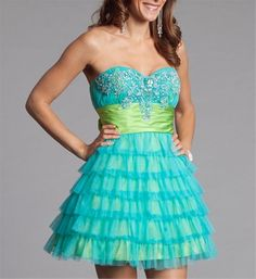 This cute dress glows in the dark!