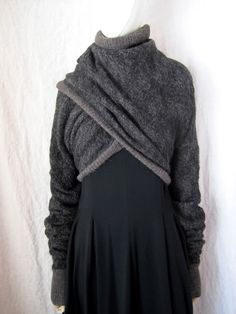 LOVES this ridiculously versatile sweater!  WORTHWHILE: GARY GRAHAM F/W 13