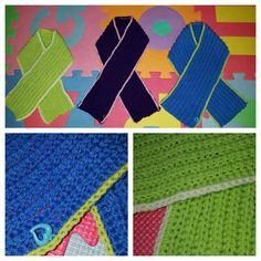 Häkel baby/Kinder schals - crochet scarf - babyscarf