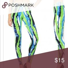 Multi Watermelon Legging Legging 94% polyester 6% spandex Pants Leggings