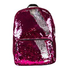 FA Magic Sequin Backpack - Pink/Silver