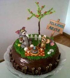 Tarta Tom y Jerry