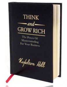 THINK and GROW RICH is a must for anyone that want to own there own business. Click Here to Access the eBook or Simply Listen to Each Chapter Below. Think and Grow Rich – The Entrepreneur Edition