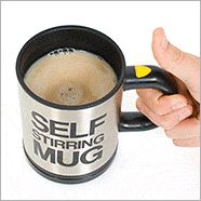 Because everyone gets tired of stirring their coffee in the morning.