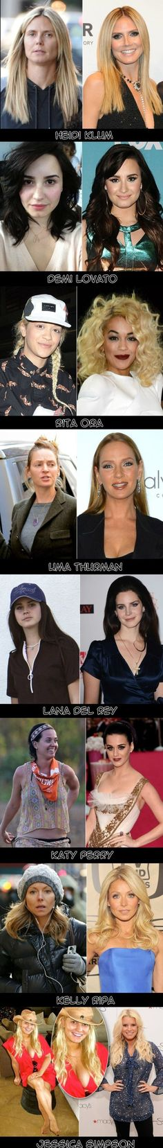 Some Celebrities Without Makeup - www.funny-pictures-blog.com