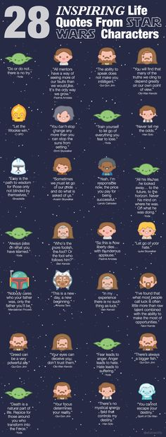 28 Wise Life Quotes From Star Wars You Didn\'t Realize Were There All Along