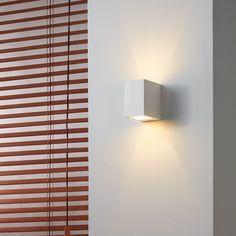 Edit Ray Plaster Wall Light - Satin White
