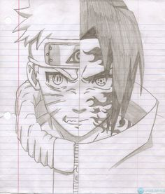 Naruto sketch drawing, sasuke drawing, naruto drawings, anime sketch, n Naruto Sketch Drawing, Sasuke Drawing, Anime Drawings Sketches, Naruto Drawings, Cool Art Drawings, Anime Sketch, Naruto Vs Sasuke, Naruto Art, Naruto Kawaii