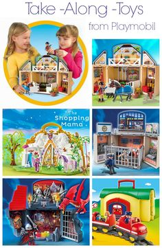 Take Along Toys from Playmobil | The Shopping Mama