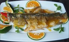 Công thức làm món cá chẽm sốt cam thơm ngon, hấp dẫn - http://congthucmonngon.com/155656/cong-thuc-lam-mon-ca-chem-sot-cam.html