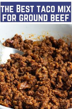 Best Classic Ground Beef Tacos These best old school ground beef tacos are like the ones you grew up on only better, They're BIG on flavor and seasoned just right. Best Beef Recipes, Beef Recipes For Dinner, Lunch Recipes, Mexican Food Recipes, Dessert Recipes, Easy Cooking, Cooking Recipes, Taco Mix, Ground Beef Tacos