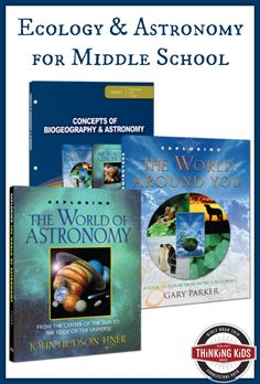 The Concepts of Biogeography & Astronomy curriculum pack from Master Books is perfect for middle school!