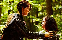 katniss and rue!