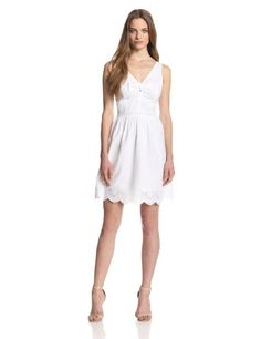Jessica Simpson Women's Everleigh Eyelet Dress - List price: $69.00 Price: $51.75 Saving: $17.25 (25%)  #JessicaSimpson
