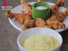 Coxas de frango cozidas em leite - Avillez