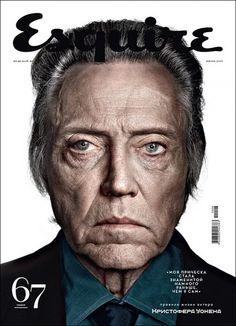 Esquire cover - Christopher Walken