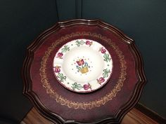 Pennsylvania Dutch ashtray from Emmaus; August 2014 $1