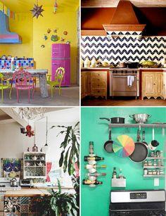 Rooms < $1000: Boho kitchen