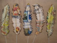 Diy Paper Birds Feathers 59 Ideas For 2019 Fun Crafts, Diy And Crafts, Arts And Crafts, Paper Crafts, Music Crafts, Paper Feathers, Bird Feathers, Paper Birds, Paper Flowers
