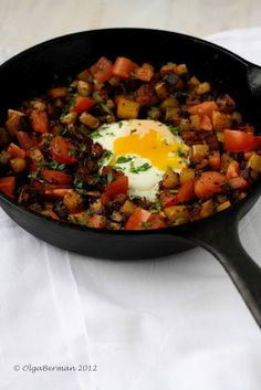 {New Post} Mexican Breakfast: Chorizo, Potato & An Egg (or make it for dinner tonight!) #mexican #recipe