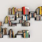 These modular Moni and Moni-K shelves, are composed of two-milimeter-thick steel plates, folded at right angles. As individual units they...