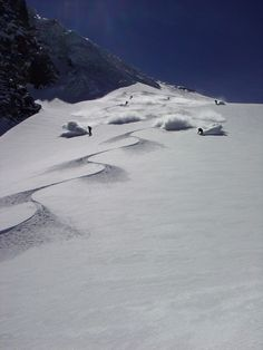 Argentiere powder... Wait for me!!!