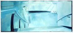 Untitled 2003 Oil on canvas 59 x 138 inches, 150 x 350 cm Uta Barth, Olafur Eliasson, Oil On Canvas, Monochrome, Modern Art, Landscape, Abstract, Gallery, Artist