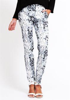 Talulah White Love Pants