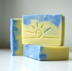 Blue Violet Soap / Cold Process Soap / Bath and by SoapForYourSoul.etsy.com