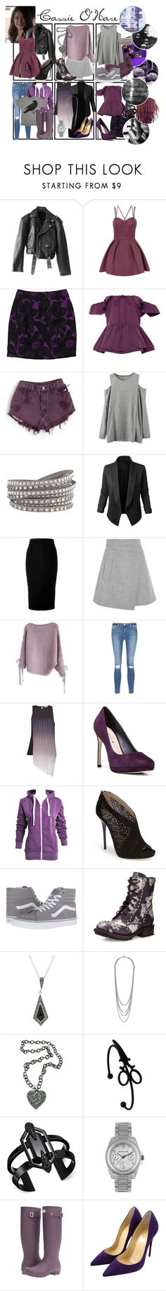 """Cassie O'Hare"" by pie-epic ❤ liked on Polyvore featuring Jean-Paul Gaultier, Chi Chi, Trina Turk, Rochas, GET LOST, American Apparel, WithChic, Jupe de Abby, Victoria Beckham and Carven"