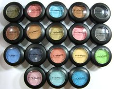 MAC makes the absolute best eye shadow. They are relatively expensive but they wear all day and last forever. The only other cheap brand that is comparable is Physician's Formula (in my opinion)