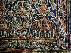 Another view of ahir embroidery