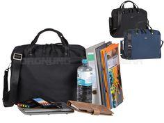 Bugatti CONTRATEMPOD - RV-Businesstasche L Aktentasche Notebooktasche - schwarz oder blau 498249