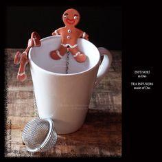Infurosi per il tè - Tea Infusers - www.facebook.com/roulerlesmecaniques