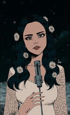 Lana Del Rey Love fanart by heezey on Etsy Art And Illustration, Landscape Illustration, Aesthetic Art, Aesthetic Anime, Elizabeth Woolridge Grant, Dope Art, Cute Wallpapers, Art Inspo, Art Drawings
